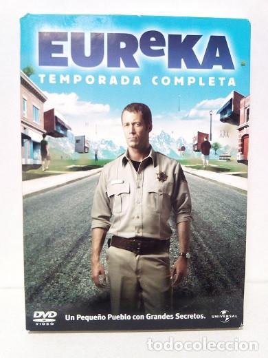 DVD - SERIE EUREKA, PRIMERA TEMPORADA, CUATRO DVD'S (Series TV en DVD)