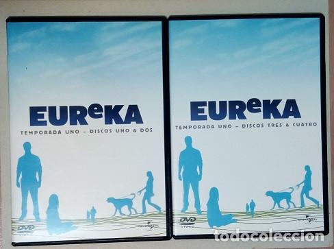 Series de TV: DVD - Serie EUREKA, Primera Temporada, Cuatro DVDs - Foto 6 - 203837083