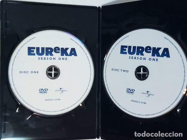 Series de TV: DVD - Serie EUREKA, Primera Temporada, Cuatro DVDs - Foto 7 - 203837083