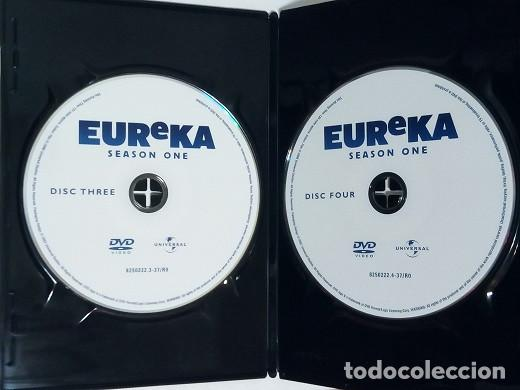 Series de TV: DVD - Serie EUREKA, Primera Temporada, Cuatro DVDs - Foto 8 - 203837083