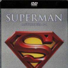 Séries de TV: SUPERMAN (I+II+III+IV) - PACK 4 DISCOS STEELBOOK (ED.METALICA). Lote 203927768