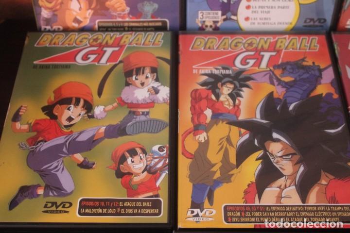 14 DVD DE LA SERIE DRAGON BALL GT Y 3 DRAGON BALL UNO DE ESTO ESTA PRECINTADO 1 DRAGON BALL Z (Series TV en DVD)