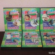 Series de TV: 6 DVD DE LA SERIE HEIDI Y DE MARCO DE AÑO 2003. Lote 203956181
