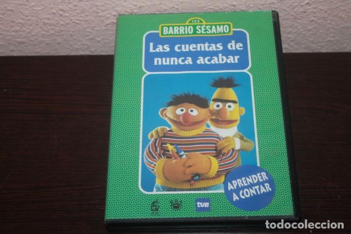 SERIE EN DVD BARRIO SESAMO LAS CUENTAS DE NUNCA ACABAR AÑO 2003 NUMERO 1 (Series TV en DVD)