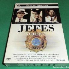 Séries de TV: SERIE EN DVD JEFES (CHIEFS) (DE COLECCIONISTA...IMPECABLE). Lote 204527202