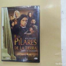 Séries TV: LOS PILARES DE LA TIERRA (KEN FOLLET) - SERIE TV - ADAPTACIÓN DEL LIBRO - 4 DVD. Lote 204665517