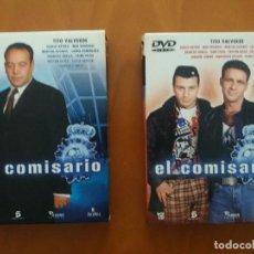 Séries de TV: EL COMISARIO - PRIMERA Y SEGUNDA TEMPORADAS 1ª 2ª - TITO VALVERDE DVD. Lote 204686023