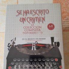 Series de TV: SE HA ESCRITO UN CRIMEN. LA COLECCIÓN COMPLETA (DVD - 12 TEMPORADAS). Lote 205579286