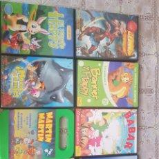 Series de TV: LOTE DE 8 DVD INFANTILES. Lote 205669293