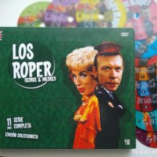 Series de TV: 11DVD SET, LOS ROPER (GEORGE & MILDRED), SERIE COMPLETA, DIGIPACK COMO NUEVO, SIN USO(NM_NM). Lote 205744012