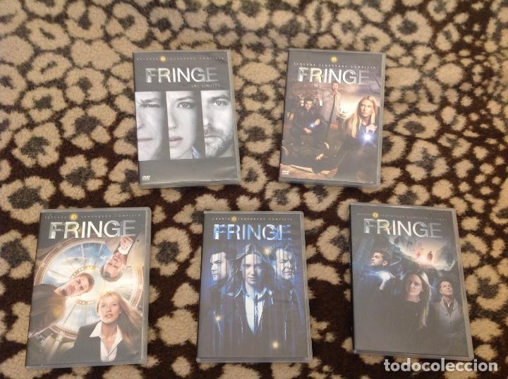 FRINGE COMPLETA LAS 5 TEMPORADAS. (Series TV en DVD)