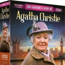 Series de TV: PACK LOS GRANDES CASOS DE AGATHA CHRISTIE. Lote 205838890
