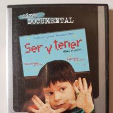 Series de TV: SER Y TENER (2002), DE NICOLAS PHILIBERT. Lote 205850895