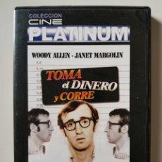 Series de TV: TOMA EL DINERO Y CORRE (1969), DE WOODY ALLEN, CON WOODY ALLEN, JANET MARGOLIN. Lote 205850905