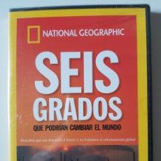 Series de TV: SEIS GRADOS QUE PODRÍAN CAMBIAR EL MUNDO. NATIONAL GEOGRAPHIC (2007) - PRECINTADO. Lote 205850918