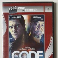 Series de TV: THE CODE (2009), DE MIMI LEDER, CON ANTONIO BANDERAS, MORGAN FREEMAN, RADHA MITCHELL, TOM HARDY. Lote 205850923