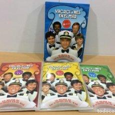 Series de TV: PACK 6 DVD - VACACIONES EN EL MAR - LO MÁS Y MEJOR DE LA FAMOSA SERIE DE TV - THE LOVE BOAT. Lote 190844691