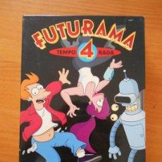 Series de TV: DVD FUTURAMA - TEMPORADA 4 - CUARTA TEMPORADA (GN). Lote 206957411