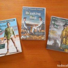 Series de TV: DVD BREAKING BAD - PRIMERA, SEGUNDA Y TERCERA TEMPORADA COMPLETAS - 1, 2 Y 3 (AW). Lote 206969525