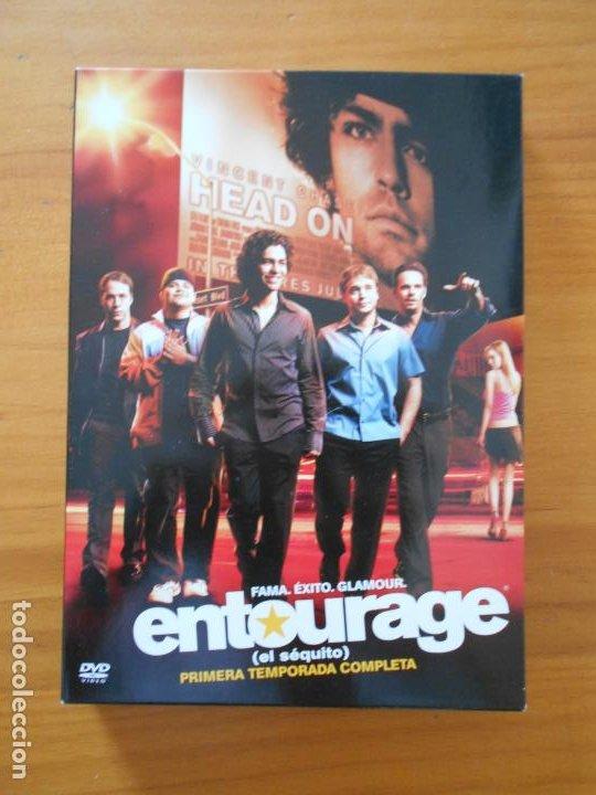 DVD ENTOURAGE (EL SEQUITO) - PRIMERA TEMPORADA COMPLETA - TEMPORADA 1 (AW) (Series TV en DVD)