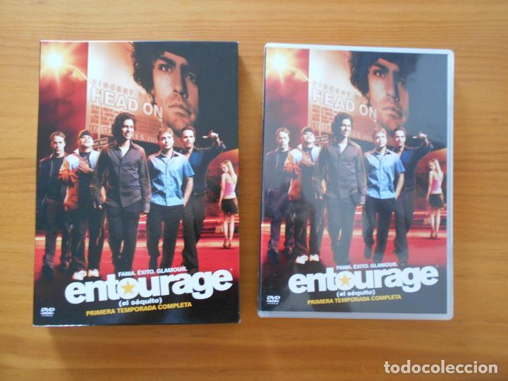 Series de TV: DVD ENTOURAGE (EL SEQUITO) - PRIMERA TEMPORADA COMPLETA - TEMPORADA 1 (AW) - Foto 2 - 206970043