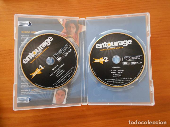 Series de TV: DVD ENTOURAGE (EL SEQUITO) - PRIMERA TEMPORADA COMPLETA - TEMPORADA 1 (AW) - Foto 3 - 206970043