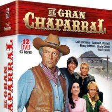 Series de TV: PACK EL GRAN CHAPARRAL - 1ª Y 2ª TEMPORADA. Lote 207113603
