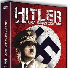 Series de TV: ADOLF HITLER: LA HISTORIA JAMÁS CONTADA. Lote 207113613