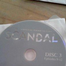 Series de TV: SERIE TV DVD SCANDAL TERCERA TEMPORADA COMPLETA INGLÉS CINCO DISCOS. Lote 207583800