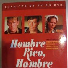 Series de TV: SERIE. HOMBRE RICO, HOMBRE POBRE. PRIMERA TEMPORADA CAP. DEL 1 AL 12. Lote 207913662