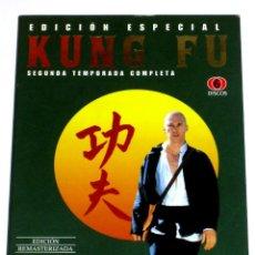Séries de TV: KUNG FU (TEMPORADA 2 - 6 DISCOS) - DAVID CARRADINE RADAMES PERA KEYE LUKE DVD DESCATALOGADA. Lote 208110140