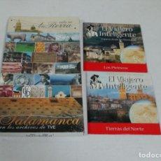 Series de TV: ESTA ES TU TIERRA SALAMANCA ARCHIVOS TVE 2006 + 2 DVD EL VIAJERO INTELIGENTE - NUEVO PRECINTADO. Lote 208842073