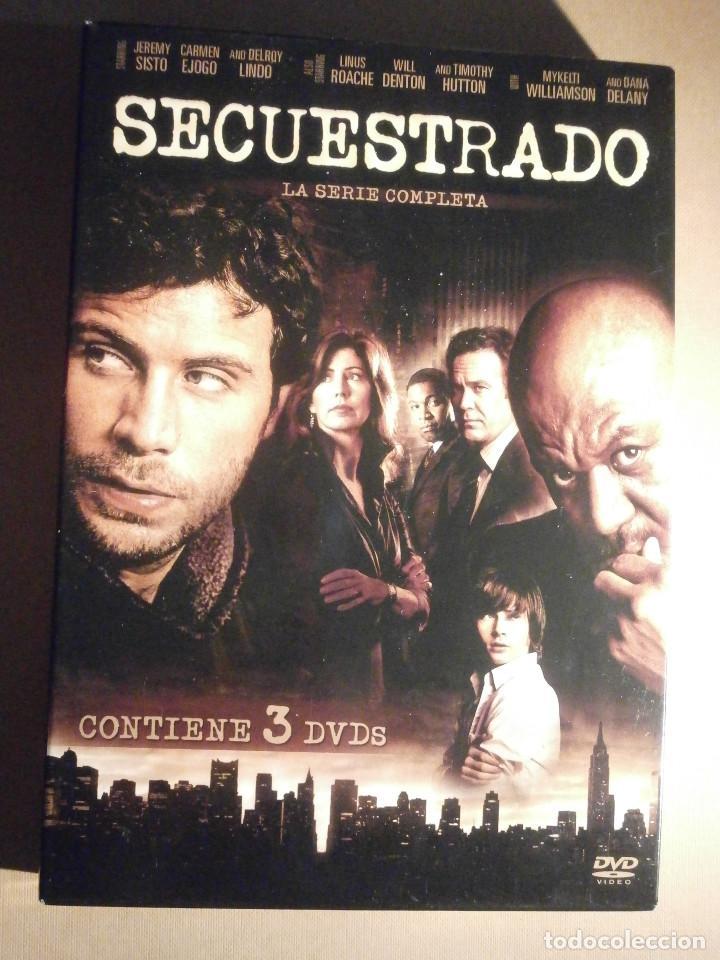 SERIE EN DVD - SECUESTRADO - 538 MINUTOS - 13 EPISODIOS EN 3 DISCOS - AÑO 2008 (Series TV en DVD)
