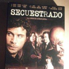 Series de TV: SERIE EN DVD - SECUESTRADO - 538 MINUTOS - 13 EPISODIOS EN 3 DISCOS - AÑO 2008. Lote 209176490