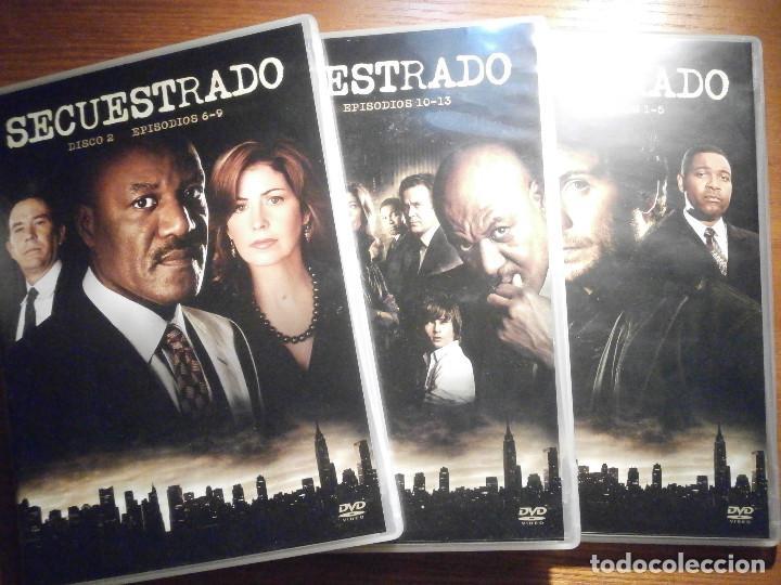 Series de TV: Serie en DVD - Secuestrado - 538 minutos - 13 episodios en 3 discos - Año 2008 - Foto 2 - 209176490