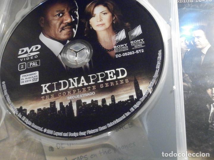Series de TV: Serie en DVD - Secuestrado - 538 minutos - 13 episodios en 3 discos - Año 2008 - Foto 3 - 209176490