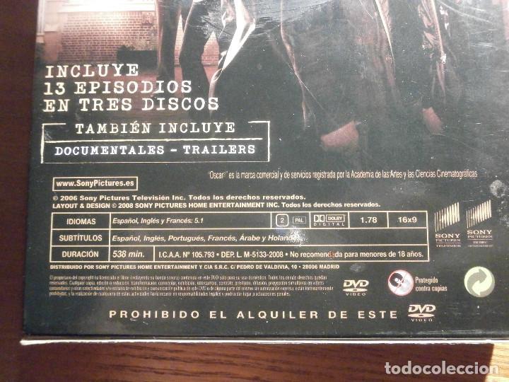 Series de TV: Serie en DVD - Secuestrado - 538 minutos - 13 episodios en 3 discos - Año 2008 - Foto 4 - 209176490