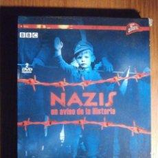 Séries de TV: DOCUMENTAL SEGUNDA GUERRA MUNDIAL - NAZIS, UN AVISO DE LA HISTORIA 289`` MIN. 2 DISCOS AÑO 1997-2005. Lote 209178001