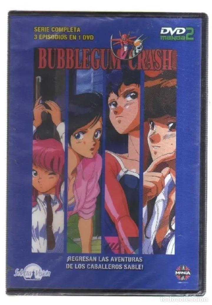 BUBBLEGUM CRASH - SERIE COMPLETA - 3 EPISODIOS EN 1 DVD - MANGA (Series TV en DVD)