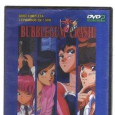 Series de TV: BUBBLEGUM CRASH - SERIE COMPLETA - 3 EPISODIOS EN 1 DVD - MANGA. Lote 209390860