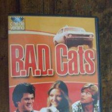 Series de TV: B.A.D. CATS - BERNARD KOWALSKI - ASHER BRAUNER , MICHELLE PFEIFFER - CINE DE VERANO SONYLAB. Lote 209416545