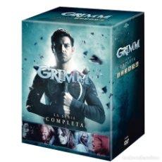 Series de TV: SERIE COMPLETA EN DVD GRIMM AUDIO INGLÉS CASTELLANO PRECINTADA AQUITIENESLOQUEBUSCA ALMERIA. Lote 209919172