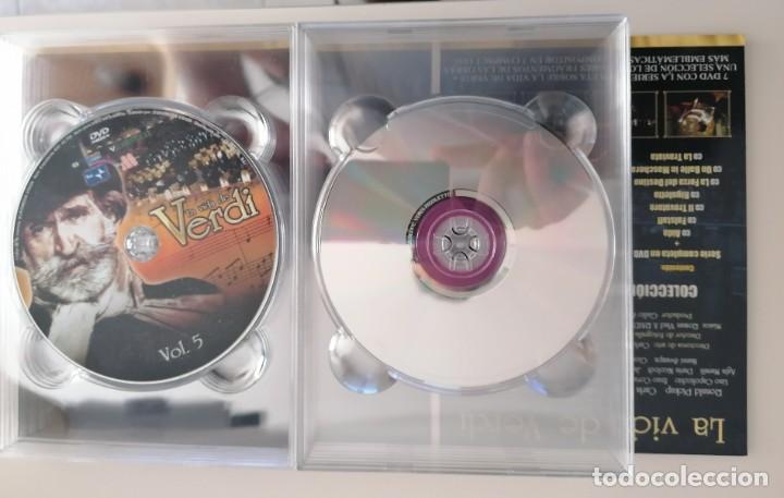Series de TV: LA VIDA DE VERDI.DVD SERIE COMPLETA. 7 DVD Y 7 DISCOS. - Foto 2 - 210022581