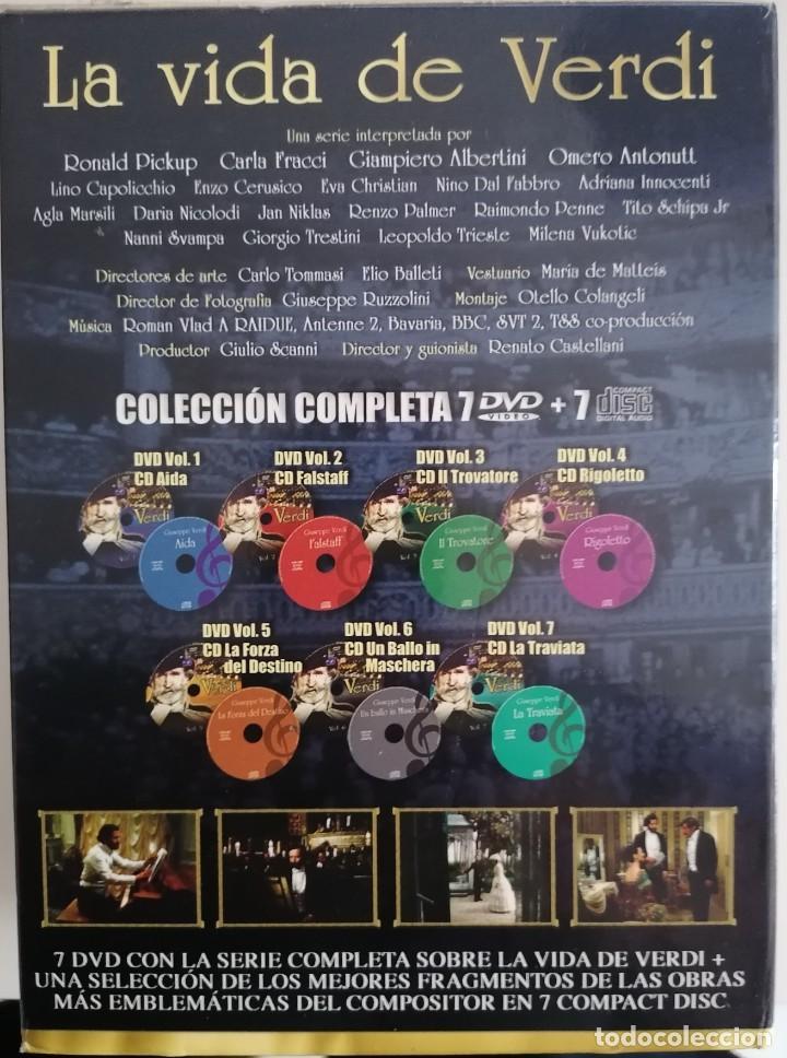 Series de TV: LA VIDA DE VERDI.DVD SERIE COMPLETA. 7 DVD Y 7 DISCOS. - Foto 3 - 210022581