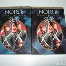 Séries de TV: NORTE Y SUR PARTE I Y II. Lote 210117393