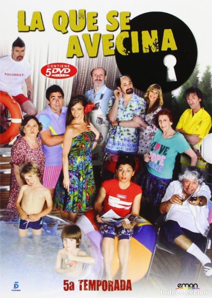 LA QUE SE AVECINA - 5ª TEMPORADA (Series TV en DVD)