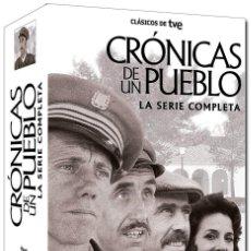 Series de TV: CRONICAS DE UN PUEBLO - SERIE COMPLETA - 17 DVD´S. Lote 210295963