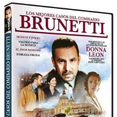 Series de TV: LOS MEJORES CASOS DEL COMISARIO BRUNETTI. Lote 210295976