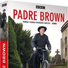 Series de TV: PADRE BROWN (1ª Y 2ª TEMPORADA) (FATHER BROWN). Lote 210295997
