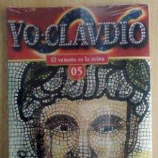 Series de TV: TODODVD: PRECINTADO. YO CLAUDIO 05 - EL VENENO ES LA REINA. Lote 210312393